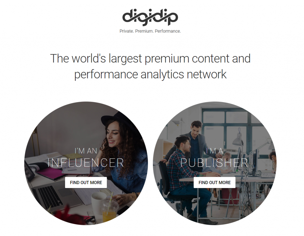 digidip content monetization platform